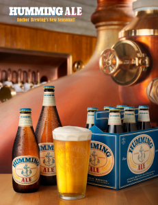 Humming Ale the newest Seasonal beer from Anchor Brewing is now available in Vegas!