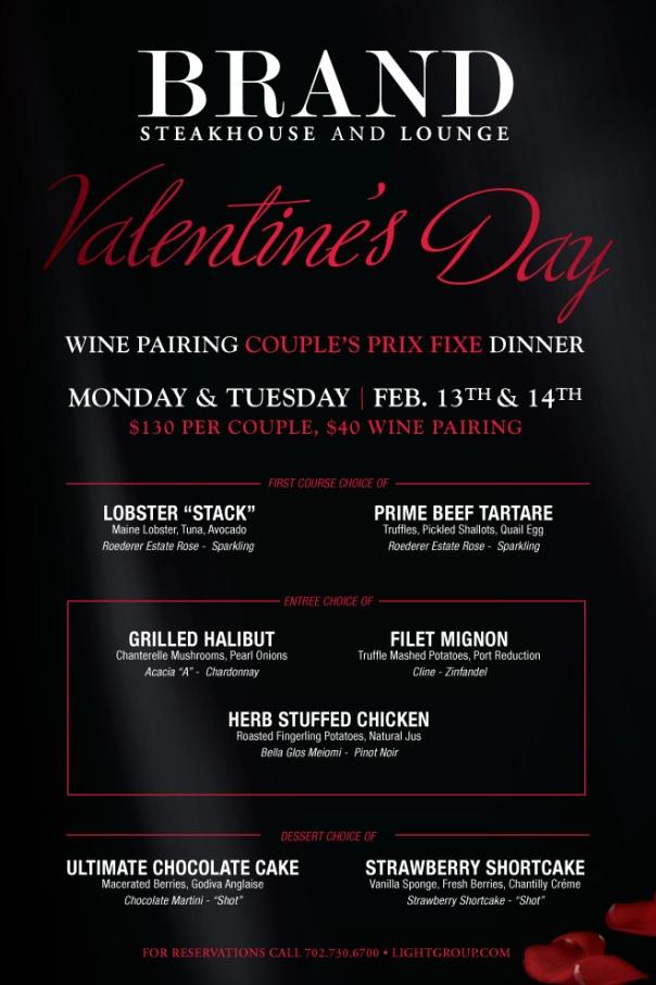 Brand Valentine's Dinner